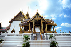 Interior of the Grand Palace in Bangkok. Stock Photo