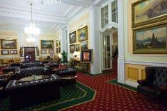 Interior of Grandhotel Pupp Stock Images