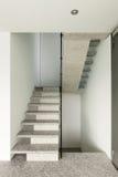 Interior, granite staircase Stock Image