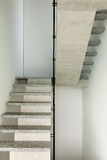 Interior, granite staircase Royalty Free Stock Photography