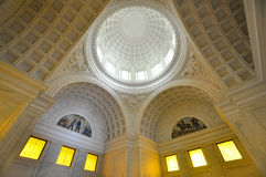 Interior of Grant's Tomb in New York City Stock Photo