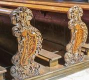 Interior of the Graz Cathedral, Austria. Royalty Free Stock Photos