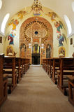 Interior of a Greek Catholic church in Romania Stock Photography