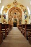 Interior of a Greek Catholic church in Romania Stock Photography