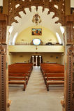 Interior of a Greek Catholic church in Romania Stock Photo