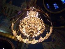 Greek Orthodox Church. Interior of Greek Orthodox Church Stock Images