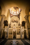 Interior of a Greek Orthodox Church Royalty Free Stock Photo