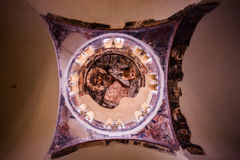 Interior of a Greek Orthodox Church Stock Photography