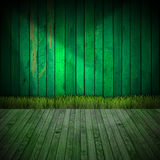 Interior Green Room Royalty Free Stock Images