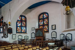 Interior of the Groot Kerk Royalty Free Stock Photos