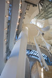 Interior of Guggenheim Museum in Bilbao Stock Image