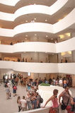 Interior of Guggenheim Museum Royalty Free Stock Photography