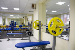 Interior of gym Royalty Free Stock Photos