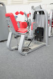 Interior of gym with equipment Royalty Free Stock Images