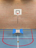 Interior of a gym at school Stock Photography