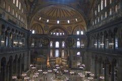 Interior of Hagia Sofia Stock Photos
