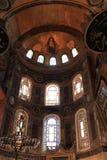 Interior of Hagia Sophia royalty free stock photo
