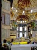 Interior of Hagia Sophia, Istanbul Royalty Free Stock Image