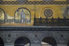 Interior of Hagia Sophia, Istanbul stock photos