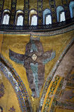 Interior of the Hagia Sophia in Istanbul, Turkey. Stock Images