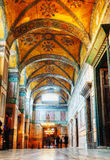 Interior of Hagia Sophia in Istanbul, Turkey Royalty Free Stock Image