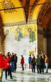Interior of Hagia Sophia in Istanbul, Turkey Stock Photo