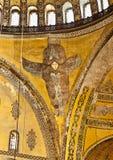 Interior of the Hagia Sophia Istanbul Turkey Stock Photography