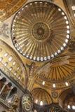 Interior of the Hagia Sophia Istanbul Turkey Royalty Free Stock Photography