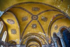The interior of Hagia Sophia, Istanbul Stock Photos