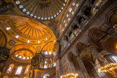 Interior of Hagia Sophia Stock Photo