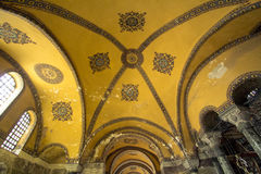 Interior of Hagia Sophia Stock Photos