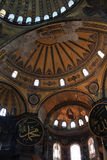 Interior of Hagia Sophia museum royalty free stock images