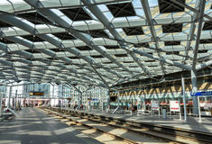 Interior of The Hague central station, Netherlands Stock Photos