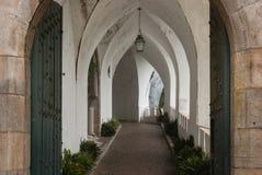 Interior hall at Pena Palace royalty free stock photo