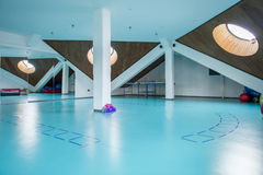 Interior halls for exercise Stock Photography