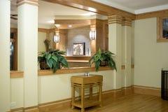 Interior of a hallway. Hallway of an elegant home Stock Photos