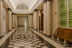 Interior Hallway Royalty Free Stock Photos