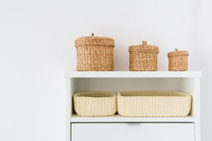 Interior hallway storage furniture Royalty Free Stock Images
