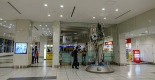 Interior of Haneda Airport in Tokyo, Japan royalty free stock photo