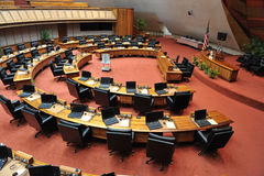 Interior of the Hawaii House of Representatives building Stock Image
