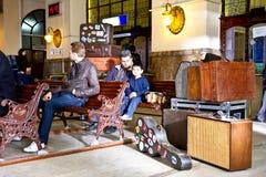 Interior of Haydarpasa Station Stock Photography