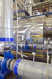 Interior of heating system Stock Photography