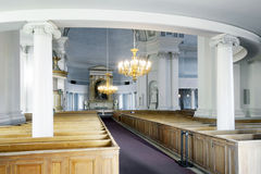 Interior of helsinki cathedral Royalty Free Stock Images