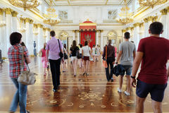 Interior of  Hermitage Royalty Free Stock Images
