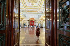 Interior of  Hermitage Stock Photography