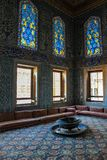Interior hermoso con la decoración de las tejas de mosaico foto de archivo libre de regalías