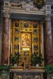 Interior hermoso de la catedral de Pisa (di Pisa del Duomo) Fotos de archivo libres de regalías