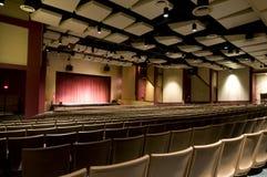 Interior of High School Auditorium
