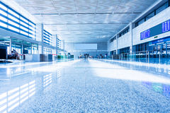 Interior of High Speed Rail Station in china Royalty Free Stock Images