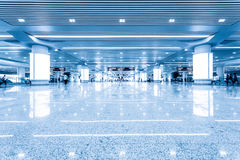 Interior of High Speed Rail Station in china Royalty Free Stock Photography